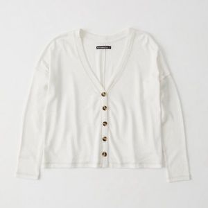 Abercrombie & Fitch Cozy Button up